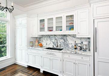 Houzz Kitchen Cabinets | Traditional Kitchen design by Dc Metro Kitchen And Bath Bradford ...
