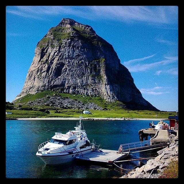 Trænstaven, Sanna isle, Træna, Nordland, Norway