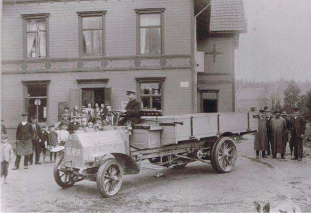 Bilder från förr - Koppoms första lastbil