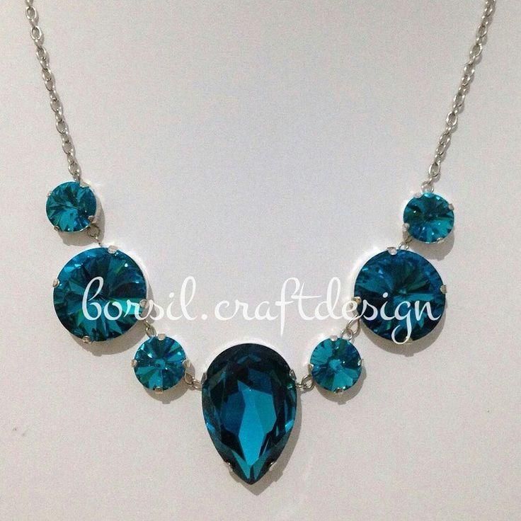 Czech crystals etsy.com/shop/borsilcraft  #borsil #borsiljewelry #beadsdesign #jewelry #wiredcraft #handmadeaccesories #jewelryhandmade #etsy #etsyseller #jewelry #shoponline #olshop #uniqueaccesories #preciousstones