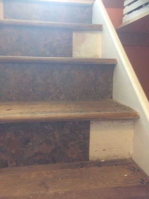 I needed to reface my stairs to get my house ready for sale but I fell and broke my rib so it really hurt my budget when I couldn't work  and I had to get creat…