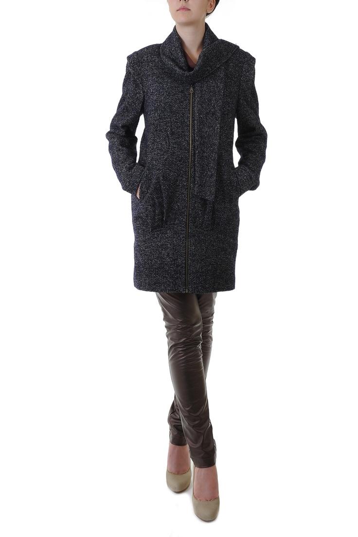 Palton pepit din lana