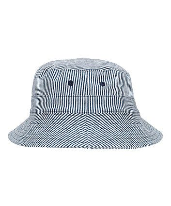 Ticking Stripe Fisherman Hat