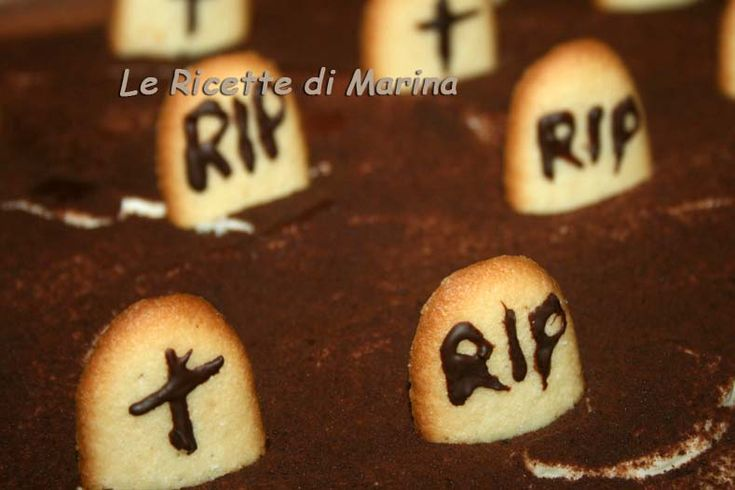 Cimitero di Halloween (tiramisù)