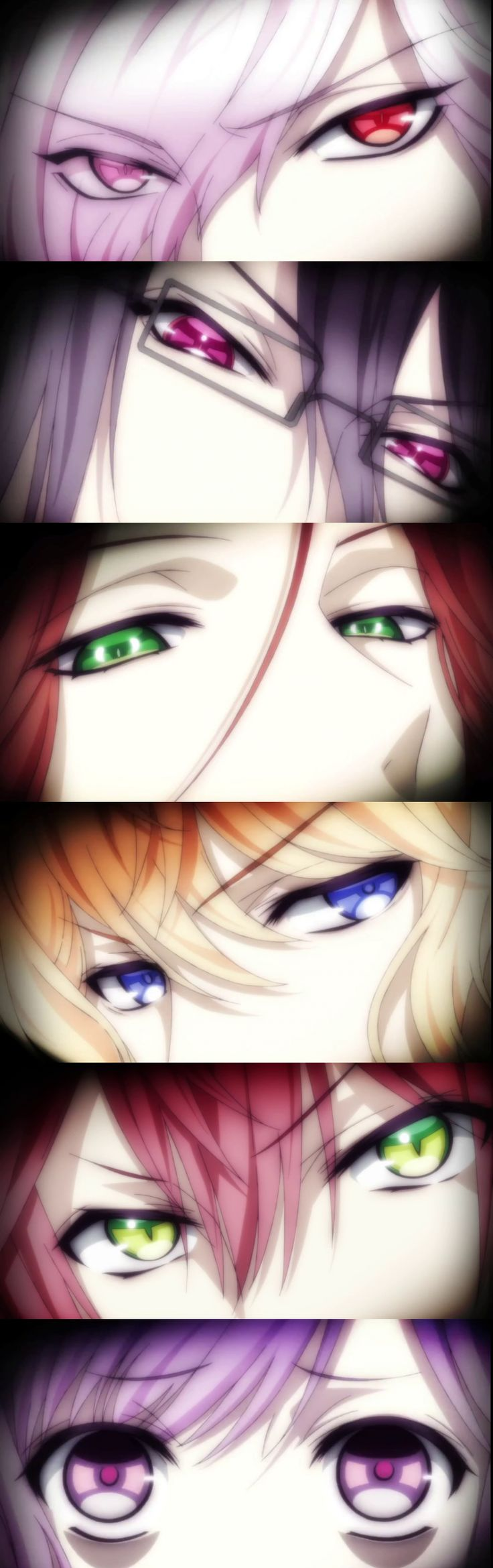 Can we just- I mean- what was I saying?... OH GOD *swoons* whose gaze is hotter I DARE U CHOOSE  Diabolik Lovers