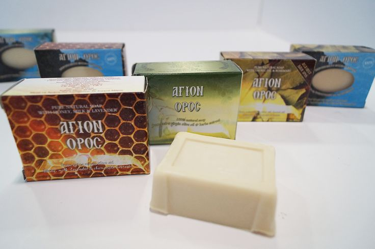 Mount Athos Herbal Soaps  are 100% pure, made of fine herbs and virgin olive oil. They are handmade by athonite monks, who use the traditional cold process soap production. They are suitable for all skin types #mount #athos #soaps #athonite #agioreitika #sapounia
