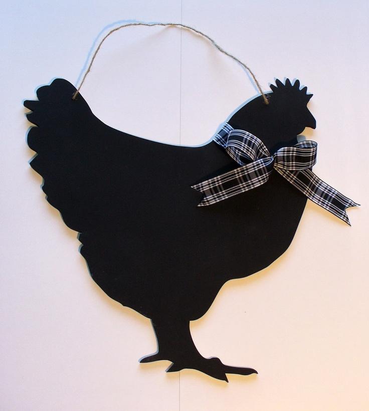 Cute Chicken Blackboard- love it!
