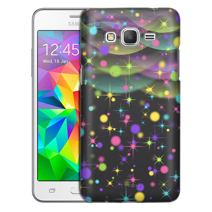 Samsung Galaxy Grand Prime Fairy Night Skies on Black Trans Case