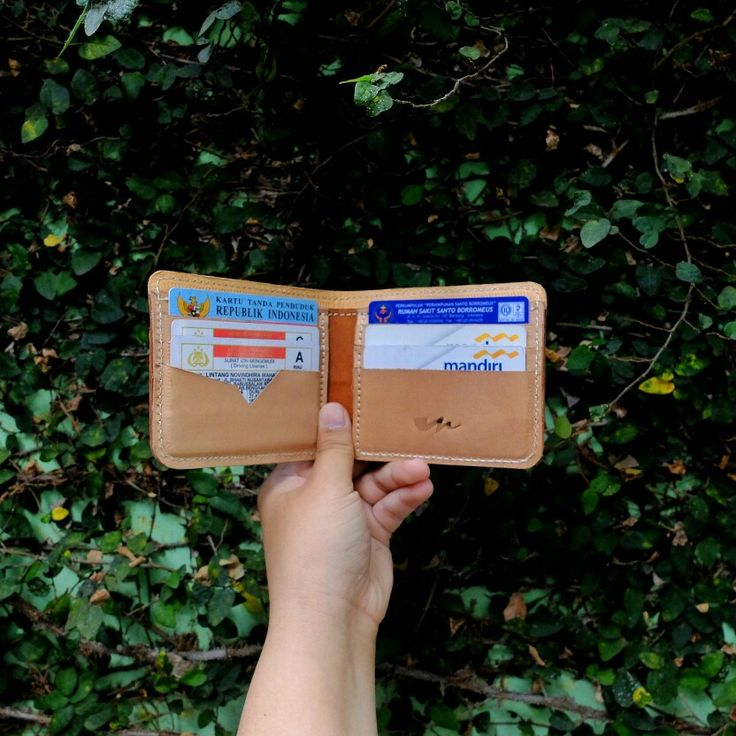 Original leather wallet by midway