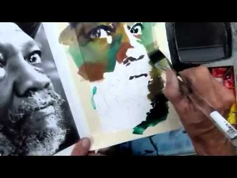 ▶ Lesson 16 / Painting the Portrait - YouTube