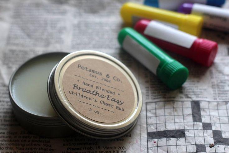 Children's Chest Rub Recipe (using Lavender, Frankincense, Cedarwood (or Tea Tree), and Sweet Orange)
