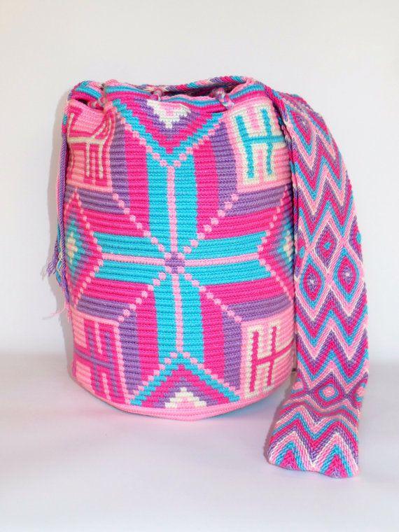 WAYUU SHOULDER Hobo BEACH Bag Mochila by StyLeArtiSanHanDs on Etsy, $89.00