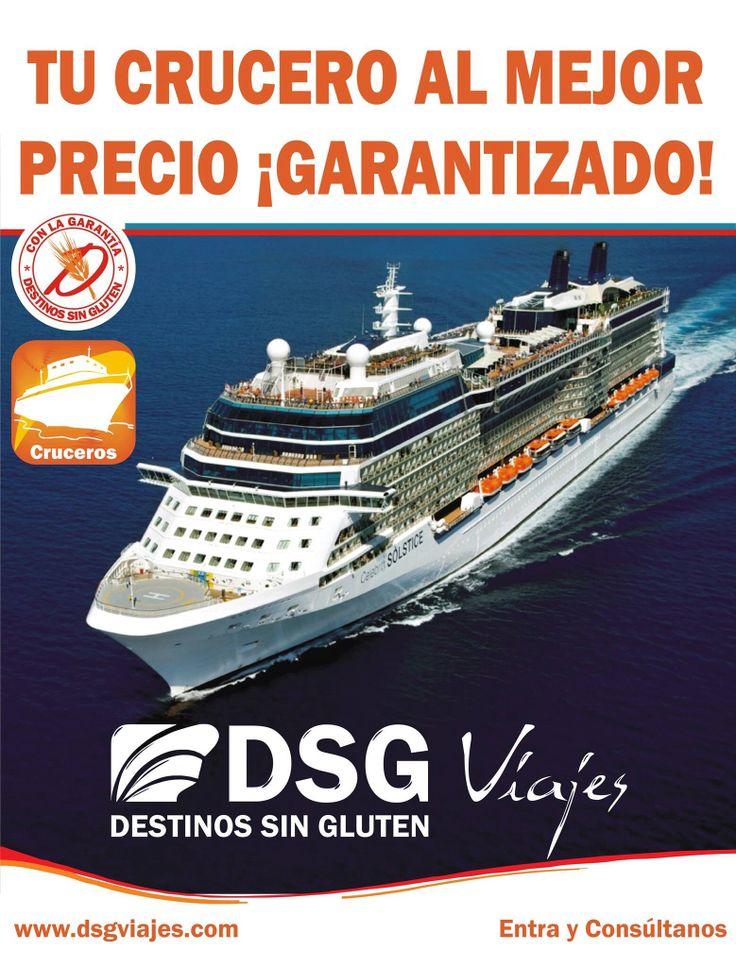 Cruceros Sin Gluten al mejor precio Garantizado