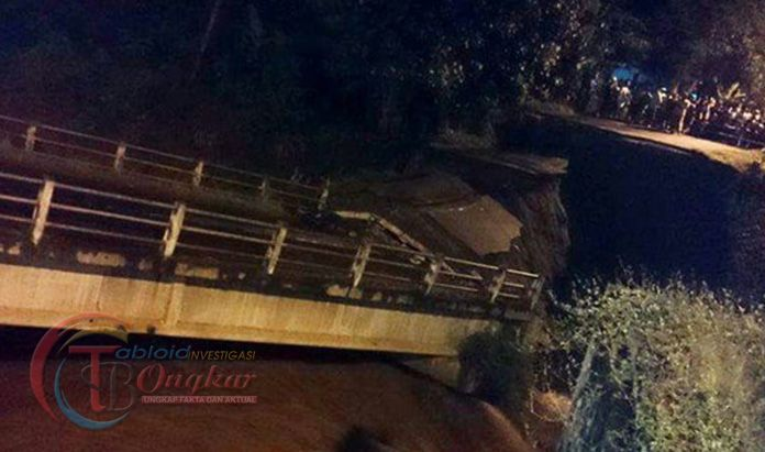 Jembatan Penghubung Ngadi Tidak Layak Di Lewati, Bahayakan Keselamatan Warga
