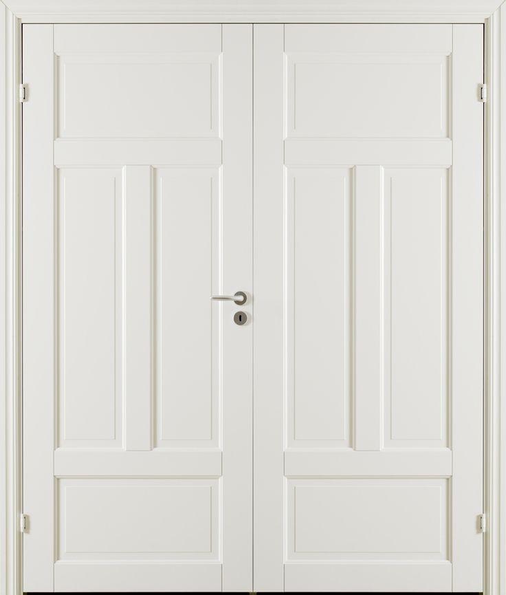 Oden 4 Double Door - Interior Door made by GK Door, Glommersträsk, Sweden.  www.gkdoor.se