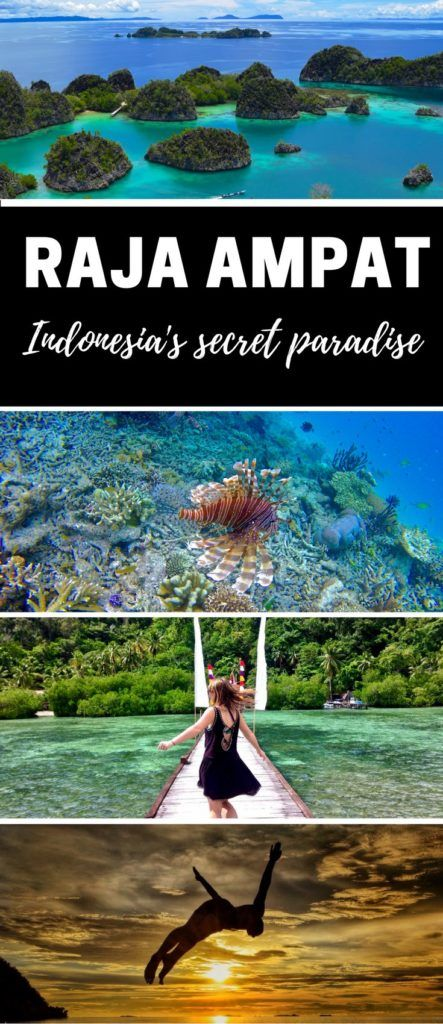 Raja Ampat A Guide to Indonesia's Secret Paradise. Raja Ampat is home to some of the most beautiful islands on the planet. There's spectacular snorkelling and diving, and some of the friendliest people you'll ever meet. Isn't it time you explored this secret corner of paradise? http://www.wanderlustchloe.com/raja-ampat-indonesia-travel-guide-tips/#more-8217