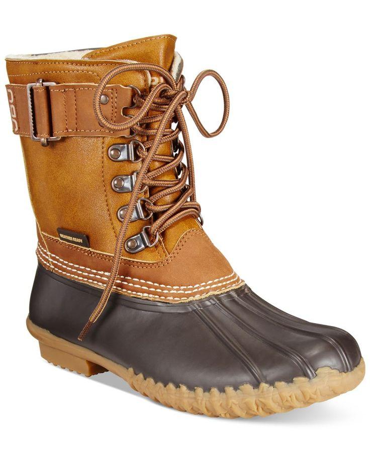 JBU Women's Nova Scotia Duck Boots - Boots - Shoes - Macy's