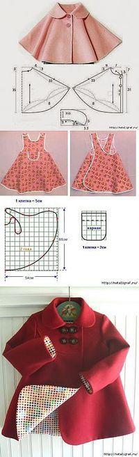 Детские одежды с выкройками