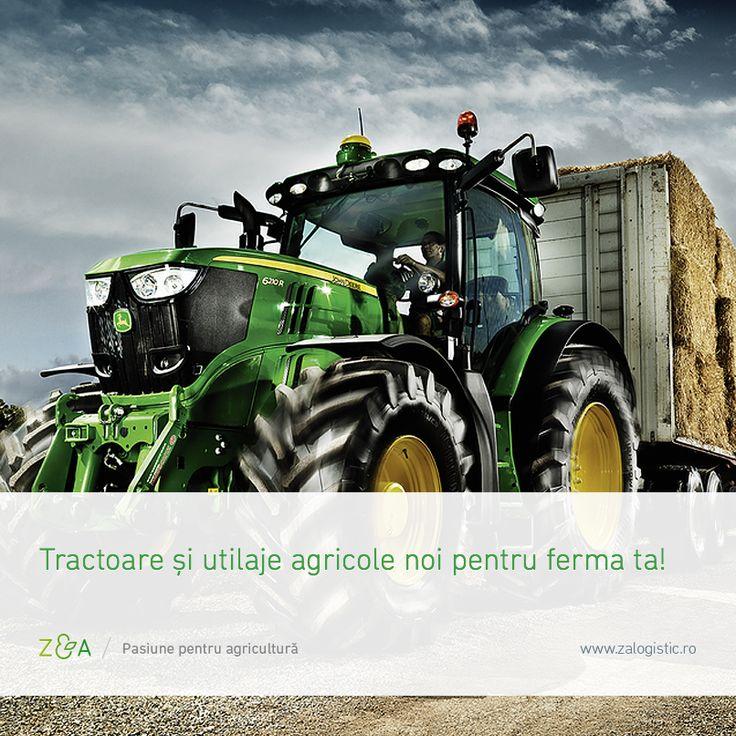 Ai nevoie de un tractor sau o semănătoare nouă?