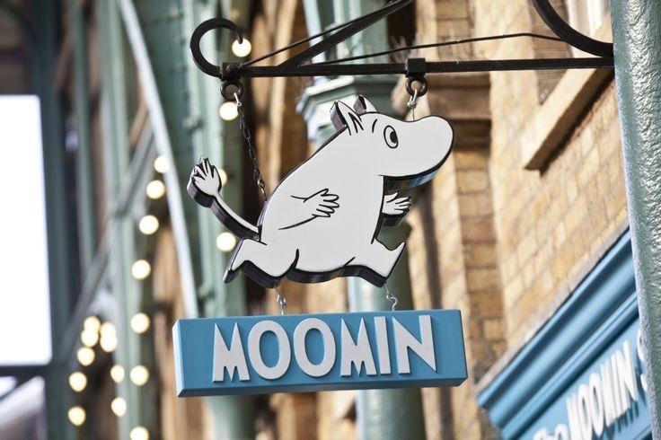 The #Moomin Shop in Covent Garden's Market Building, #London opened in 2011. www.coventgardenlondonuk.com/shopping/moomins