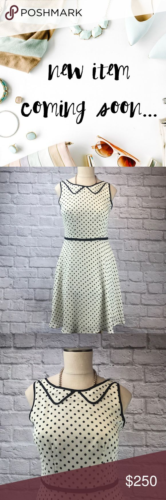 🆕Lauren Conrad Polka Dot Mini Dress Gently worn, LC Lauren Conrad mini dress. Size 10. Cream with black polka dots and black lining along the waist. Approx. Length: 37', Waist: 16'. Please use offer button and bundle for a bigger discount. Thanks 💋 2054-119 LC Lauren Conrad Dresses Mini