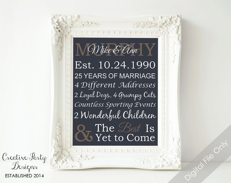 Personalized Wedding Gifts For Parents: 13 Best Anniversary Party Images On Pinterest