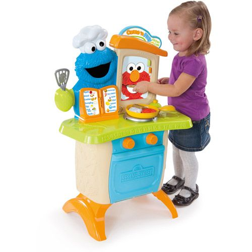 Sesame street playskool come 39 n play cookie monster for Playskool kitchen set