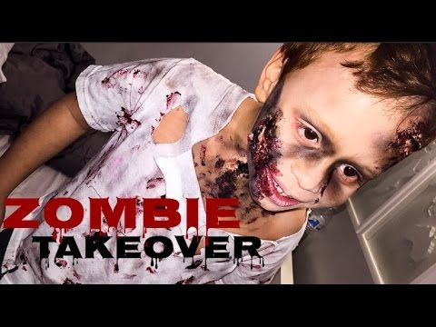 Kids Zombie Costume | Affordable DIY Halloween Costumes | 2015 - YouTube