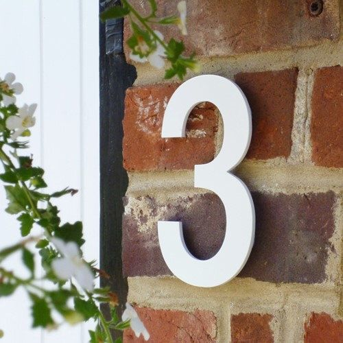 White House Numbers, Unique House Number, Helvetica House Number, Individual House Number, Contemporary House Number, Modern House Number by thecoolnumbershop on Etsy https://www.etsy.com/listing/479262057/white-house-numbers-unique-house-number