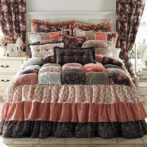 Puff Bedspreads New Quot Gabby Quot Puff Top Full Bedspread