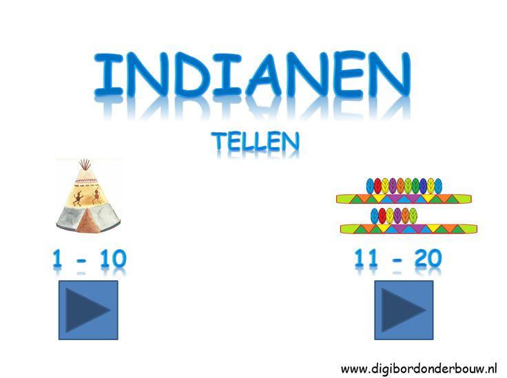 *▶ Indianen: Tellen!
