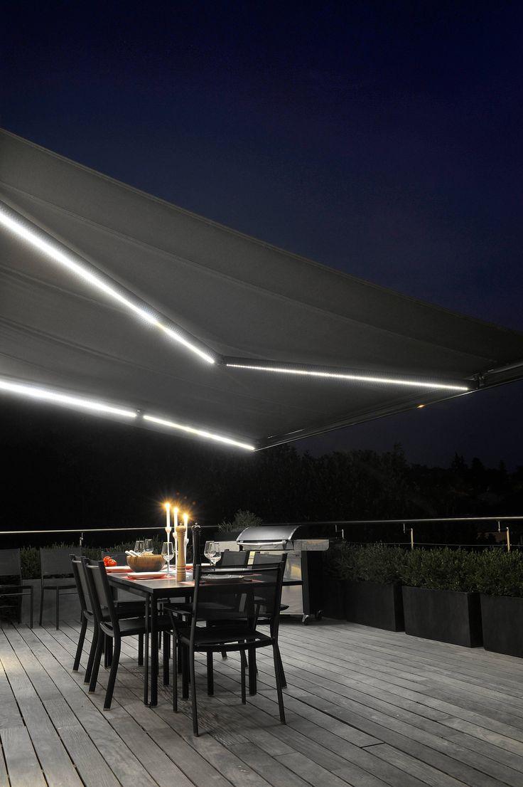 Eclairage LED - Store extérieur pour terrasse