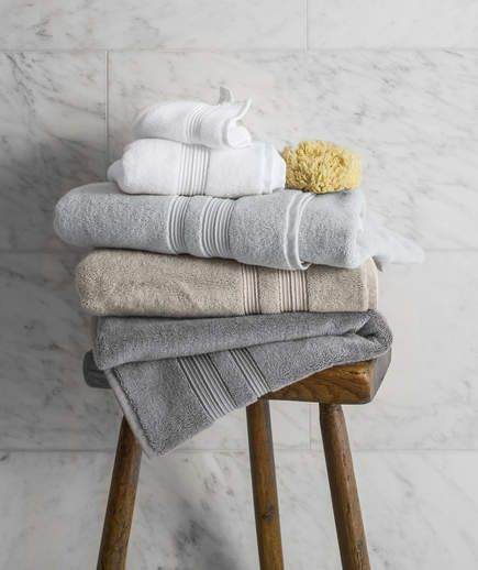 Parachute Towels | If you're looking for a luxurious feel at a reasonable price, these Turkish cotton towels belong in your bathroom.