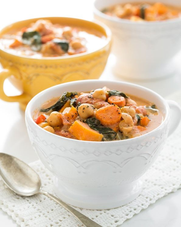 10-Spice Vegetable Soup (Freezer Friendly, Vegan, Gluten-Free)