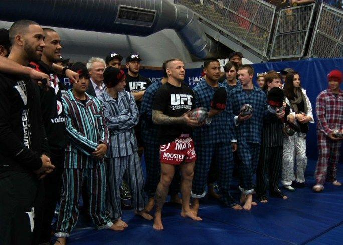 UFC Fight Night Auckland: Warriors Outreach Highlight