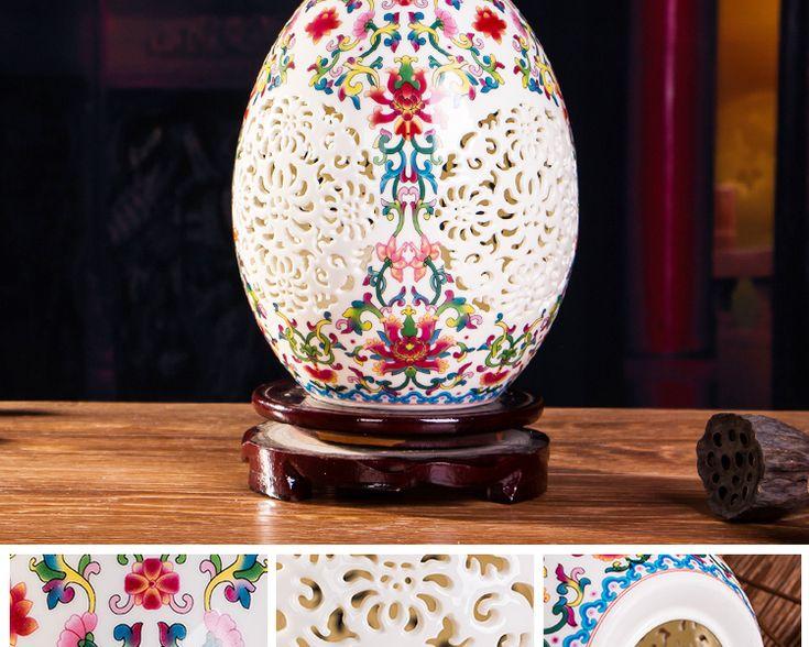 Античная керамика и изысканный выдалбливают Китайские антикварные вазы ваза бытовой украшением ремесленных статьи обеспечениякупить в магазине jingdezhen moonlight house Co.,LtdнаAliExpress