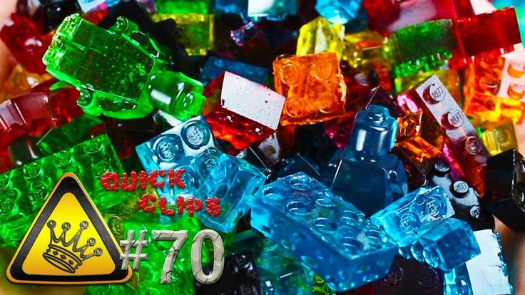 How to Make LEGO Brick Gummy Candies