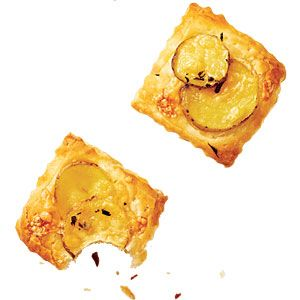 Potato-Gruyère Tartlets Recipe | Cooking Light #potatoes #Gruyère # ...