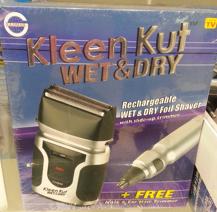 Kleen Kut wet & dry shaver - R199.99 from Glomail