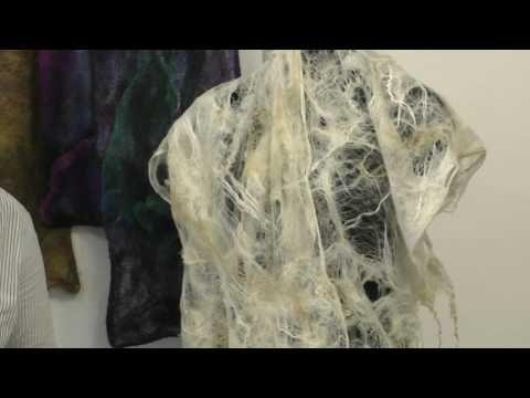 Ч.3 Паутинки из флиса Кати Щукиной Клубный день в Шкатулочке 22 апреля 2017 - YouTube