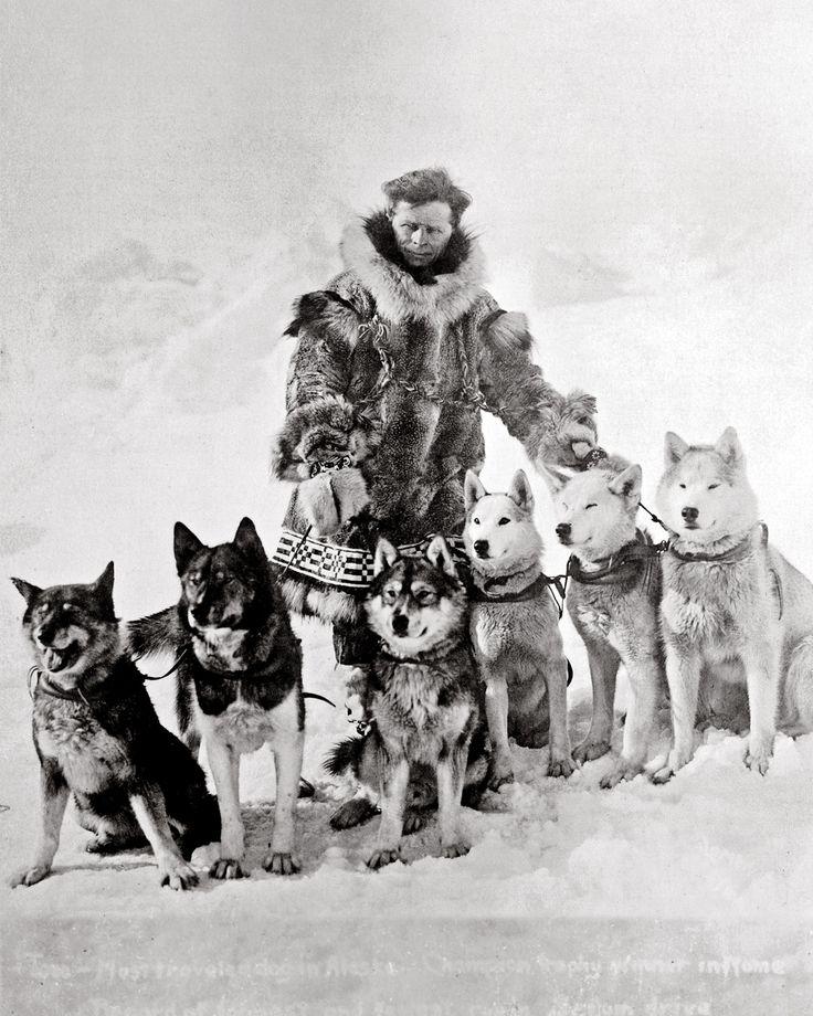 Leonhard Seppala and his huskies