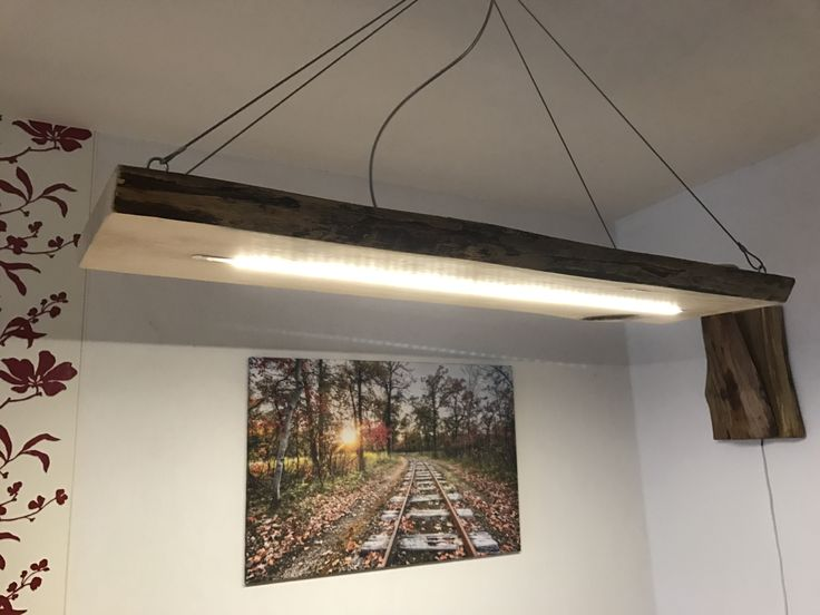 Led, Rustic, Wood, Nature, Homemade Ice