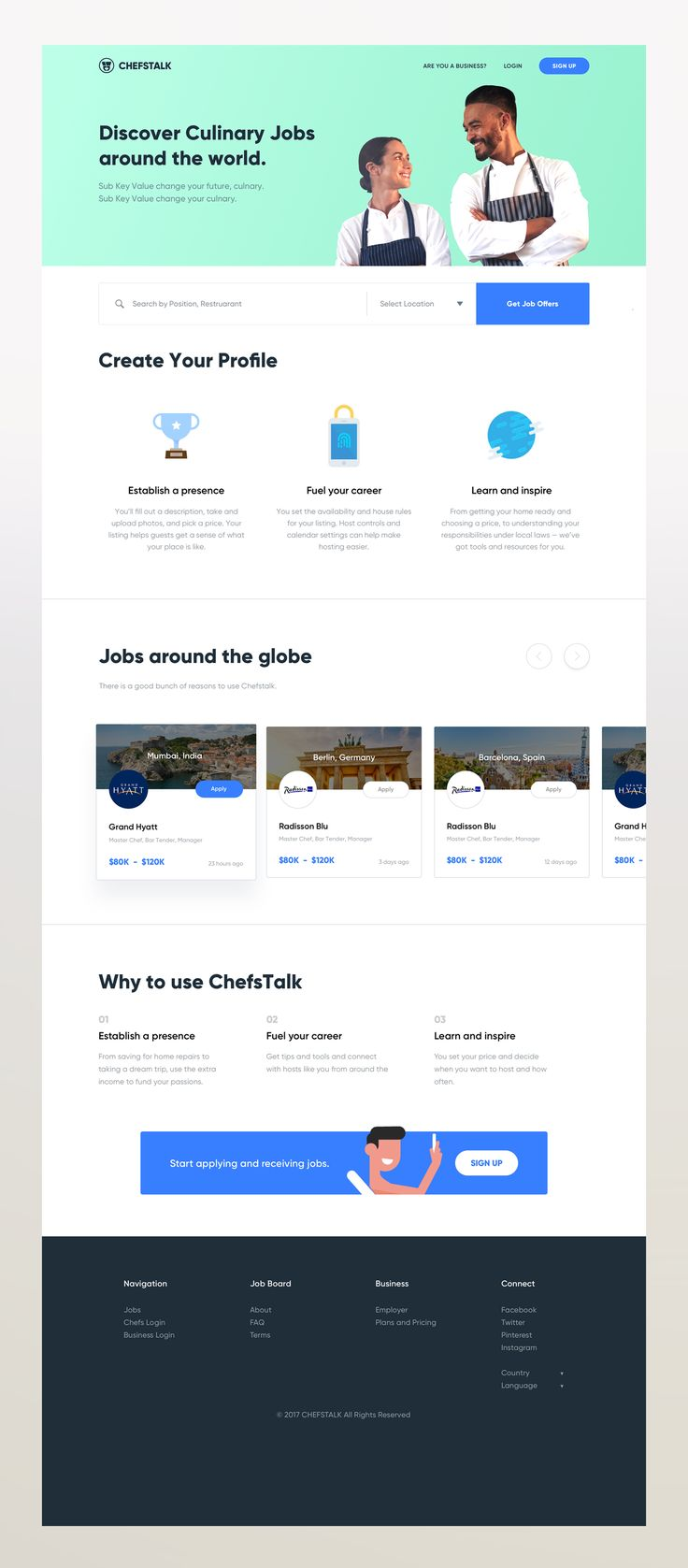 Home page   chef signup hover 2x