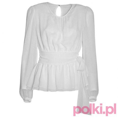 Elegancka bluzka Potis & Verso #polkipl #koszula #praca #dresscode
