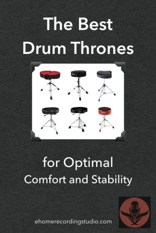 Even as drumming newbies… It doesn't take us long to figure out how important the drum throne truly is. Does it? As the base from which we support all our movements, and attain our leverage… A good drum throne not only makes it more comfortable to play for extended periods… It actually makes a noticeable …  The Best Drum Thrones for Optimal Comfort and Stability  https://ehomerecordingstudio.com/best-drum-thrones/