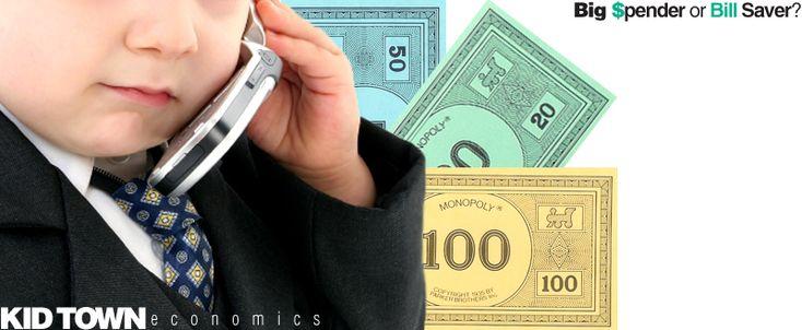 E is for Explore!: Big Spender or Bill Saver? Economics for kids