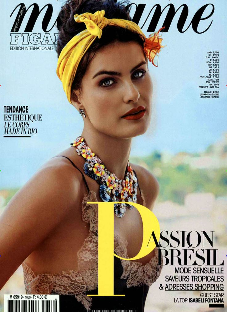 Passion Bresil. Gefunden in: MADAME FIGARO / F, Nr. 1659/2016