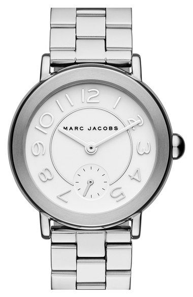 Marc Jacobs Bracelet for Women, Black, Stainless Steel, 2017, One Size
