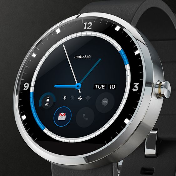 Moto 360 Android watch concept