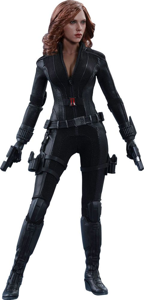 Captain+America+Civil+War+figurine+Movie+Masterpiece+1/6+Black+Widow+Hot+Toys
